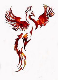 Fågel Fenix... - Tatueringar - Bodyart iFokus