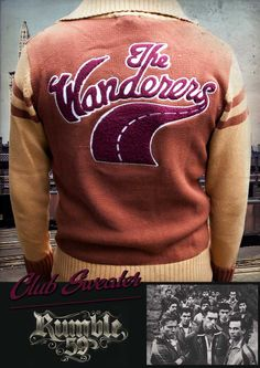 Rumble59 - Racing Sweater - Wanderers