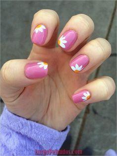 Cute Nail Designs for Every Nail - ? Nail Art Ideas to Try Cute Nail Designs for Every Nail Gel Pedicure, Pedicure Designs, Diy Nail Designs, Nail Designs Spring, Pedicure Ideas, Beach Pedicure, Pedicure Summer, Summer Toenails, Cute Spring Nails