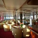 Hotelship / Rivercruiser Allegro lounging area.