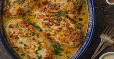Poitrines de poulet à la sauce César crémeuse