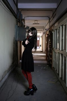 (7) Tumblr Gothic Looks, Living Dead Dolls, Darkness Falls, Dark Beauty, Suho, Goth Girls, Gothic Fashion, Chloe, Cosplay