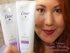 Terapia Feminina: Eu usei: linha Dove Vitality Rejuvenated