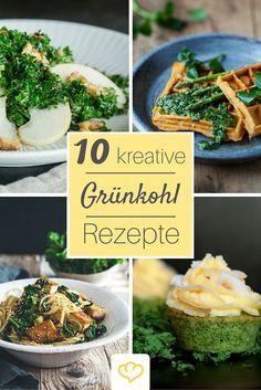 10 kreative Rezepte für deinen Kohldampf! Denn Grünkohl kann mehr als immer nur Eintopf!
