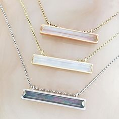 one of our absolute favorites- the Eleanor Necklace!