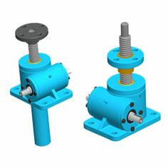 Machine Screw Jacks manufacturers and exporters from Bangalore. We manufacture a wide range of Machine Screw Jacks that lift and precisely position loads (1 tons to 100 tons) in a seamless manner. Upright or inverted jacks operate at full capacity in tension or compression. Our machine screw jacks are self-locking and offer increased travel speed and require a brake or external locking device to hold position. Advance Transmissions, India. http://www.transmissiongearbox.com/