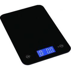 amazon com produtrend sleek weigh ultrathin glass top kitchen scale