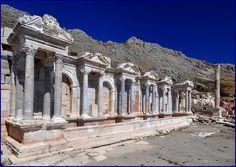 Sagalassos Ancient Place in TURKEY