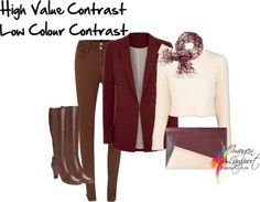 HIgh value, low colour contrast