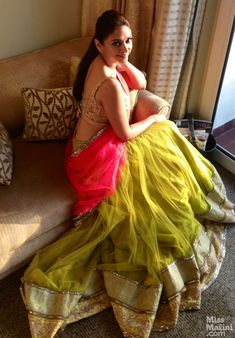 Aditi Rao Hydari gets the Rajasthani Princess look in Manish Malhotra & Jewelry by PC Chandra