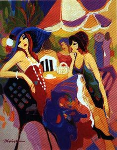 Tres femme by Isaac Maimon