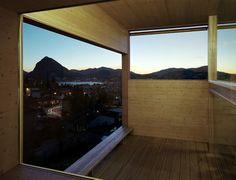 Könz Molo - Suspended Tumblr.com Lugano, Windows, Interior, House, Design, Home, Indoor, Interiors, Ramen