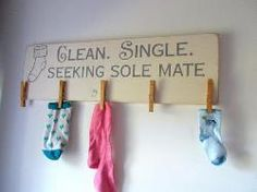 Items similar to Clean Single Seeking Sole Mate Laundry Board Lost Socks Laundry Room Sign on Etsy Stick On Wood Wall, Peel And Stick Wood, Laundry Room Signs, Laundry Room Organization, Organization Ideas, Organizing, Diy Signs, Wood Signs, Lost Socks