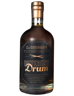 Different Drum: Pennsylvania Rum they only ship direct to DC, IL, MO, NY, PA all other destinations help@lacolombe.net $49.95 - only one bottle allowed per order