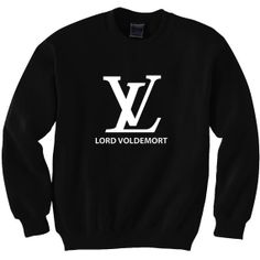 Harry Potter Book Movie Inspired Lord Voldemort Sweatshirt