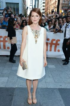 My favorite Toronto Film Festival looks | Julianne Moore in Chanel Haute Couture