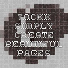 Tackk - Simply create beautiful pages