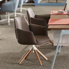 "Seating - Haworth ""Poppy"" | Meadows Office Interiors"