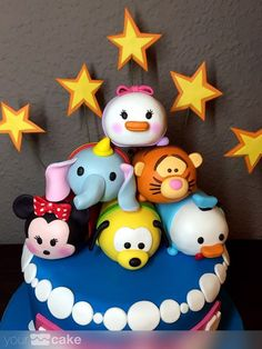 Your Cake. Tarta Tsum tsum