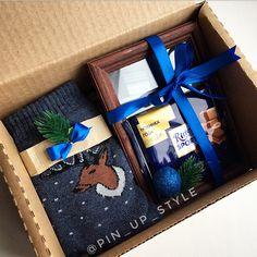 356 отметок «Нравится», 2 комментариев — New❤️Подарки на любой случай (@pin_up_style) в Instagram: «Мужской набор с фотографией -фоторамка -ваше фото -носочки -шоколад -коробка (+декор) А так же…»