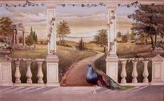 Italian Landscape Trompe L'oeil 7'x 11' by rlazzaro, via Flickr