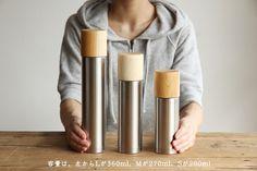 木製コップ付まほうびん SUSgallery×MokuNeji | 日本の手仕事・暮らしの道具店 | cotogoto コトゴト