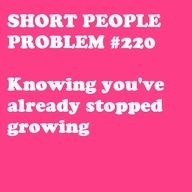 A long, long time ago. #petite #short_girl #problems
