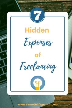 The hidden expenses of freelancing. How much does it really cost to start a successful freelance business? Whether you're a freelance writer or freelance graphic designer, there are costs that you should expect. Learn how to prepare for taxes, business structure, and marketing as a creative entrepreneur. #freelanceresources #freelancetips #remotelifegenius Graphic Design Tools, Freelance Graphic Design, Legal Business, Create Business Cards, Work Travel, Job S, Digital Nomad, Personal Finance, Web Development