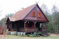 Chata Kurpiowska – projekt renowacji domu drewnianego