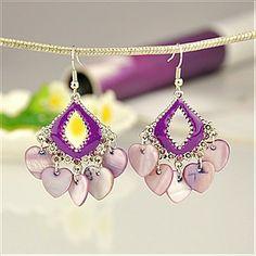 Handmade Tibetan Style Earrings(EJEW-PJE033-3)