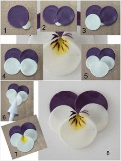 These Polymer Clay Pansies Truly Deserve a Wow