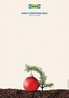 IKEA: Early Christmas Sale Campaign | http://www.gutewerbung.net/ikea-early-christmas-sale-campaign/ #Advertising