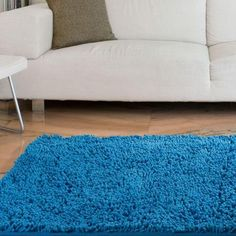 Lavish Home Blue 1 ft. 9 in. x 3 ft. Accent Rug - 67-12-B - The Home Depot