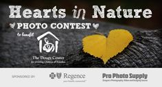 Regence BlueCross BlueShield & Pro Photo Supply partner to launch Hearts In Nature #photocontest in support of grieving children and their families.  For each new vote in the #Facebookcontest, $5 will be donated to The Dougy Center contest fundrais, pro photo, photo suppli, griev children, facebook contest