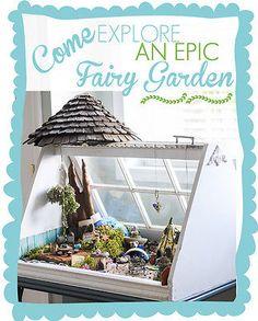 Epic Fairy Garden ideas!