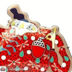 The Morning Bark ( Enamel, Artists, Photo And Video, Orange, Videos, Red, Photos, Instagram, Vitreous Enamel