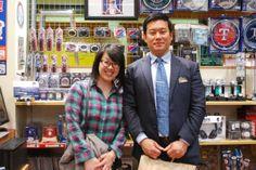 【大阪店】 2014年4月16日 とても仲良しなお二人です!ヾ(●´∀`人´∀`●)・ とてもほっこりさせていただきました☆ スナップ写真ご協力ありがとうございます♫