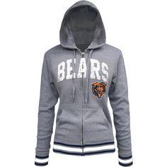 Nike Chicago Bears Women's Tailgater Full Zip Hoodie - Navy Blue