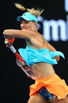 """Angelique Kerber - Angelique Kerber """" Angelique Kerber Best Picture For trends humor For Your Taste You are lookin - Angelique Kerber, Wta Tennis, Tennis Clubs, Sport Tennis, Tennis Tournaments, Us Open, Wimbledon, Angie Kerber, Golf Knickers"""