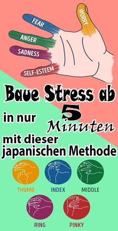Baue Stress ab in nur 5 Minuten mit dieser japanischen Methode