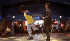 Simple Pulp Fiction dance with Fresh Prince of Bel Air and John Travolta