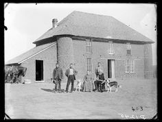 two-story sod house on French Table north of Broken Bow.....owned by Isadore Haumont......Solomon Butcher collection