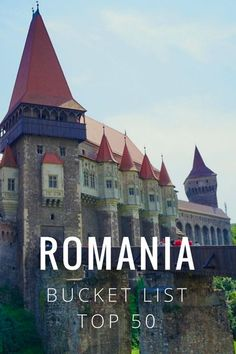 50 of the Best Places to Visit in Romania! Romania beautiful places, travel, food, tips, and Transylvania. Plenty of Eastern Europe Photography, road trip, bears, mountains and Dracula's Castle / Bran Castle. Bucharest, Brasov, Râșnov, Transfăgărășan Mountain Pass, Corvin Castle, Merry Cemetery, Sibiu, Pelisor Castle and Peles Castles, Romanian Salt Mines, Cluj-Napoca, Maramures, Constanta Casino. romania best places to visit and points of interest ☆☆#Inspiredbymaps ☆☆