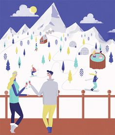 SHOP Magazine - Naomi Wilkinson Illustration
