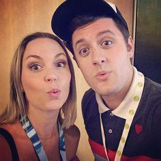 Evynne Hollens and Nick Pitera - VidCon 2016