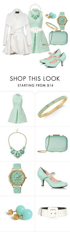 """""""#137 Mint"""" by luvv121 ❤ liked on Polyvore featuring Hunter Bell, Kate Spade, Jessica McClintock, Adrienne Vittadini, Yves Saint Laurent and BCBGMAXAZRIA"""
