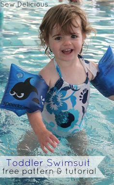 Toddler Swimsuit - Free Pattern & Tutorial