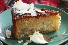 Feijoa, Coconut and Lemon Cake Ingredients 100g butter, softened ½ cup caster sugar 2 eggs ½ cup desiccated coconut ¾ cup plain flour 1 tsp baking powder 4 feijoas, peeled and sliced Lemon Syrup 6 lemons, juice only 1 cup sugar Directions Heat the oven to 170C (fan bake). Grease and line an 18cm square ...