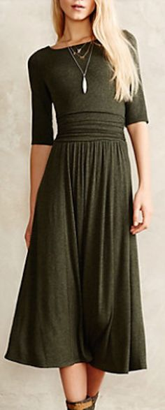 beautiful dress for winter #anthrofave http://rstyle.me/n/s49pdr9te