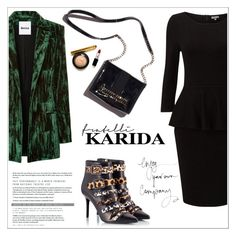 """Fratelli Karida"" by aurora-australis ❤ liked on Polyvore featuring Ballin, Koché, polyvoreeditorial and FratelliKarida"